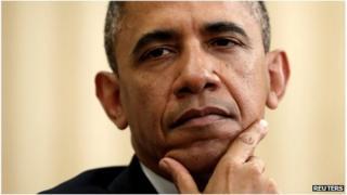 US President Barack Obama in Washington DC 31 May 2013