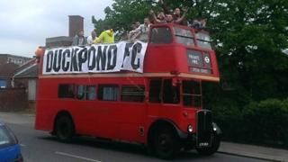 Duckpond FC toured Harwich on Saturday