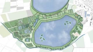 The Proposed Masterplan for Cheddar Reservoir Two