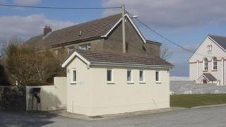 Toilet block at Maenclochog in Pembrokeshire