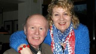Graham Walker and his wife Susan January 2013