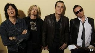 Stone Temple Pilots, pictured in 2010