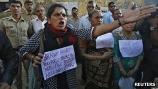 Protest in Delhi, India (29 Dec 2012)