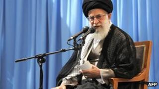 Ayatollah Ali Khamenei in Tehran
