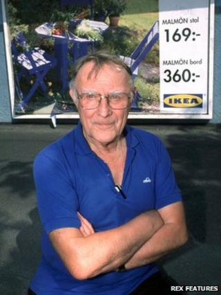 Ingvar Kamprad, founder of IKEA