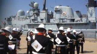 Decommissioning of HMS Edinburgh
