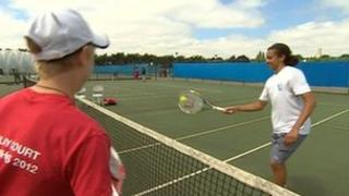 Tennis at Nottingham