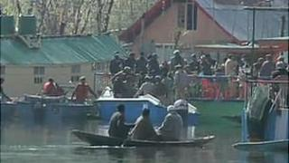 Houseboat in Kashmir