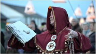 Mystic monk