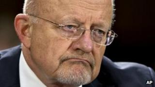Director of US National Intelligence James Clapper (April 2013)
