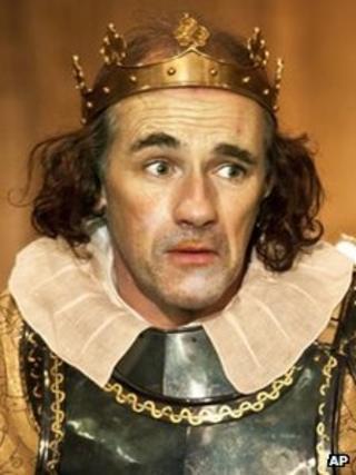 Mark Rylance as Richard III