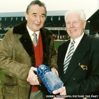 Brian Clough and Ernie Hallam