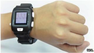 Wrist heart device