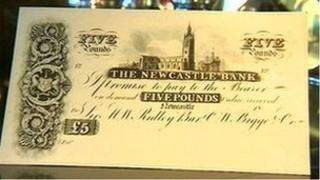 Newcastle bank note