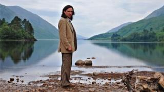 Presenter Neil Oliver in the Highlands