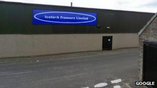 Icetech factory building, Castletown