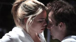 BILLIE PIPER as Connie and JONJO O'NEILL as Tristan