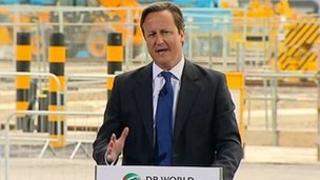 David Cameron, speaking in Essex