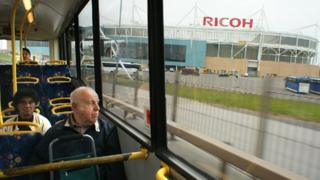 The 360 goes to Arena Park and the Ricoh