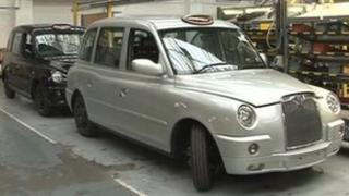 Inside The London Taxi Company factory