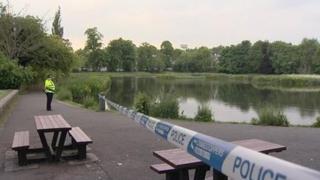 Bingham's pond near Gartnavel Hospital