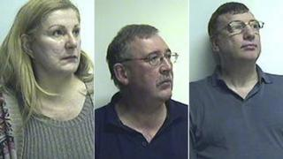 Margaret Paterson, Ian Goalen and Robert Munro