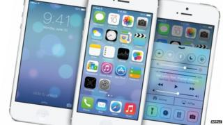 Apple's new operating system iOS7