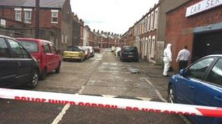The attack happened in Kitchener Street in the village area