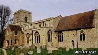 All Saints' Church, Sutton Courtenay