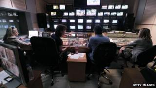 staff in a control room at the ERT headquarters