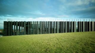 Visitor centre at the Giant's Causeway in Northern Ireland