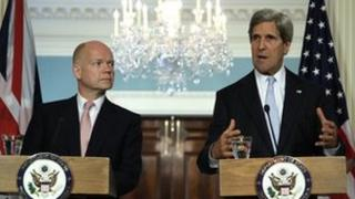 William Hague and John Kerry