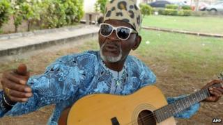 Fatai Olayiwola Olagunju, known as Fatai Rolling Dollar in Lagos, Nigeria, on 25 August 2011