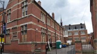 The former Alderman Newton School