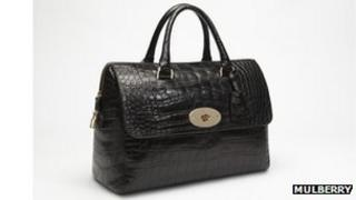 Mulberry black Del Rey handbag