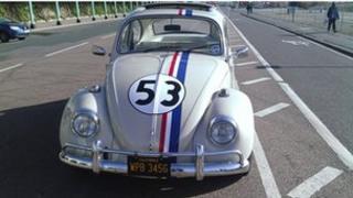 """1968 """"Herbie"""" Volkswagen Beetle"""