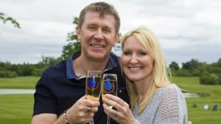 Lotto winners Robert and Caroline Whichelow