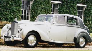 1951 Silver Dawn Rolls Royce