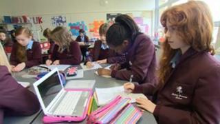 Invicta Grammar School pupils