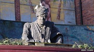 Sultan above the former Zanzibar nightclub in Derby