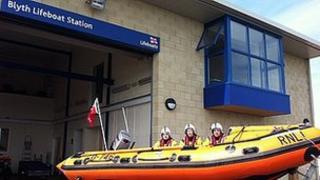 New Blyth lifeboat station