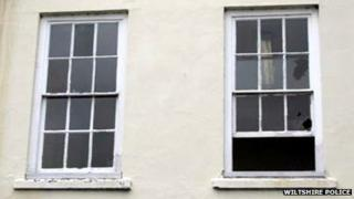 Windows at MGW Law in St John's Street were broken in the shooting