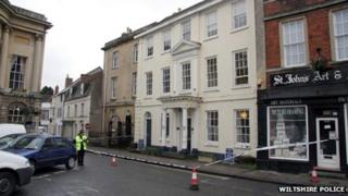 The MGW Law offices in Devizes