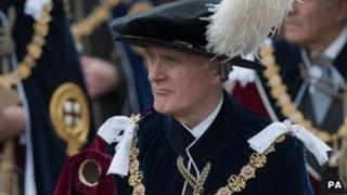 Air Chief Marshal Lord Stirrup installed as a Knight Companion