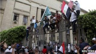Anti-Muslim Brotherhood protest in Cairo, 25 May 13