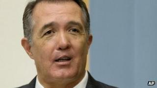 Representative Trent Franks on Capitol Hill in Washington on 18 June 2013