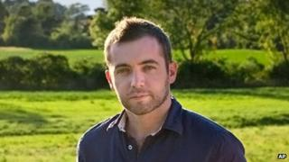 Undated photo of Michael Hastings