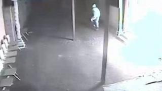 Man seen on CCTV footage
