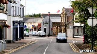 Railway Street in Antrim