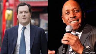 George Osborne and Jeffrey Osborne